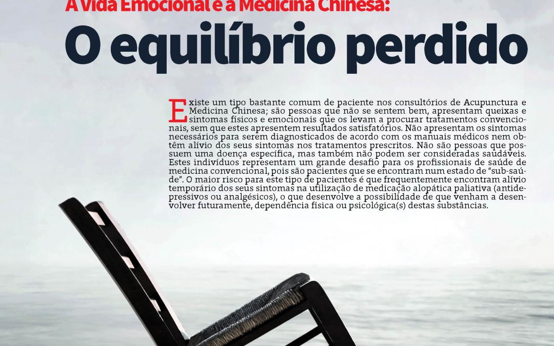 A Vida Emocional e a Medicina Chinesa: O equilíbrio perdido